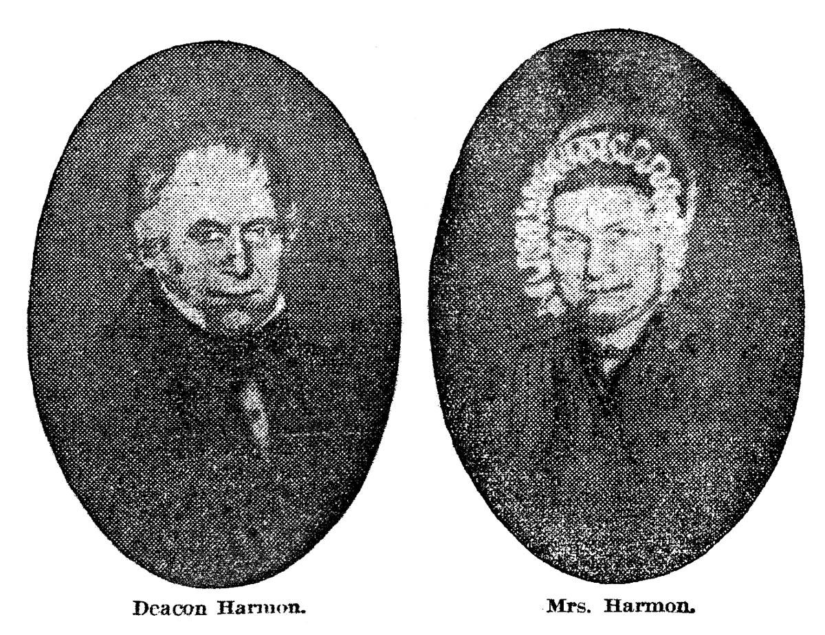 New york monroe county henrietta - Deacon Rawson And Mrs Harmon