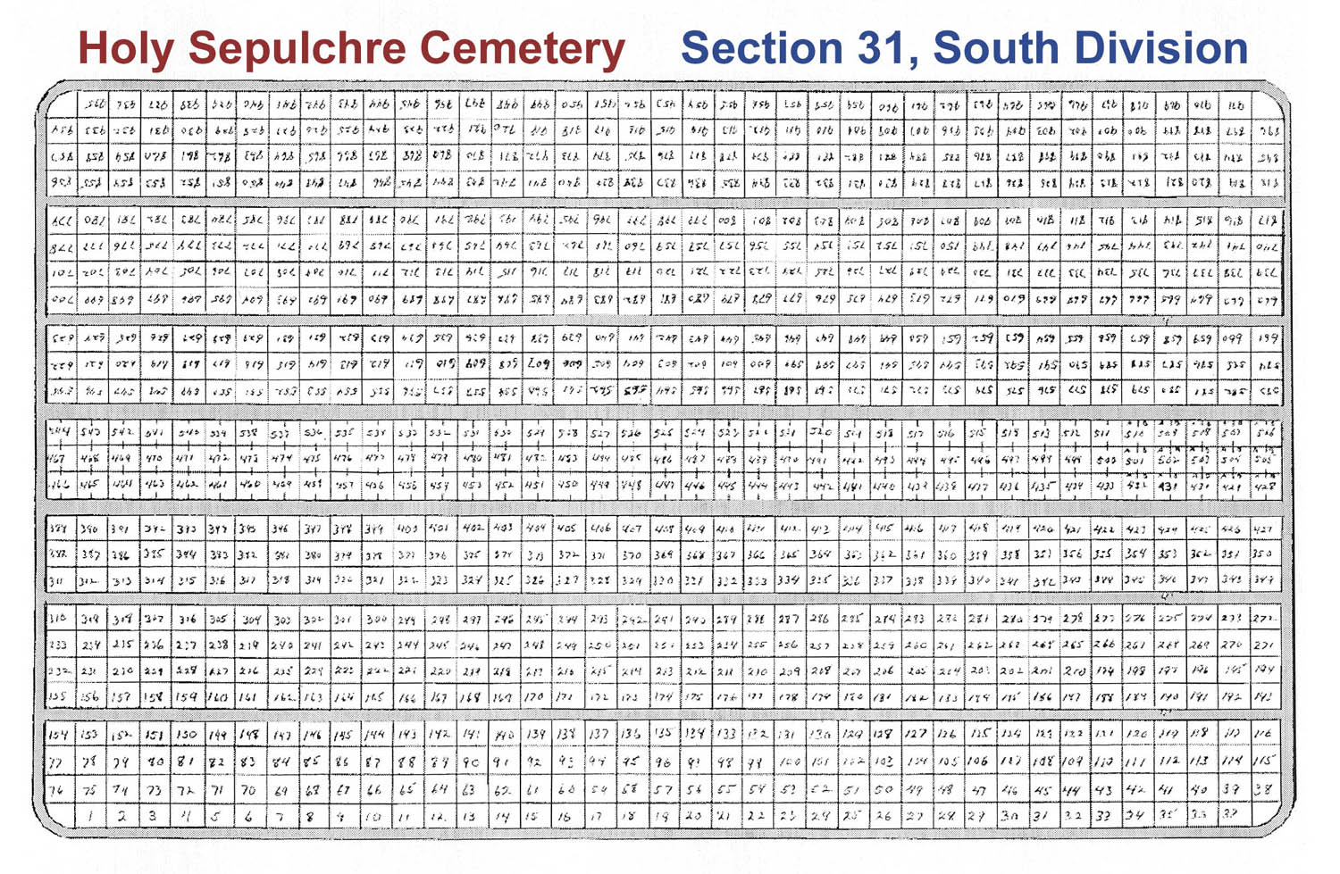 Veteran Burials In Sections 30